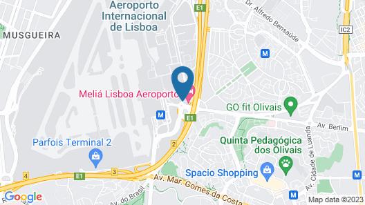 Hotel Star Inn Lisbon Aeroporto Map