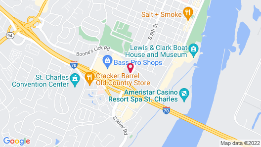Best Western Plus The Charles Hotel Map