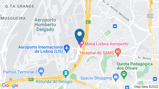 TRYP Lisboa Aeroporto Map