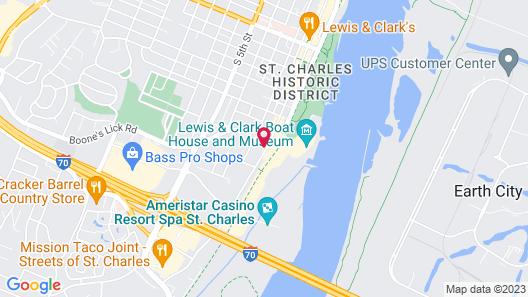 Bird Haus - on Main Street, Katy Trail, Near Lindenwood Map
