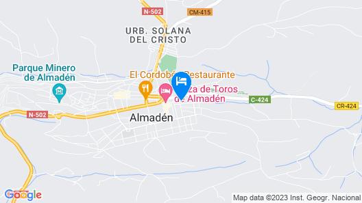 Casa Rural La Encina Map
