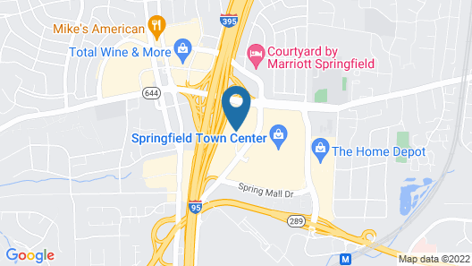 Wingate by Wyndham Springfield Map