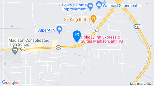 Holiday Inn Express & Suites Map