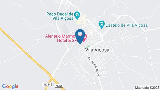 Alentejo Marmòris Hotel & Spa Map