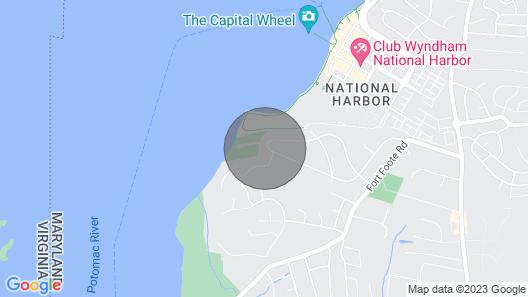 Huge Basement Minutes Away From Gaylord/mgm/washington Harbor Map