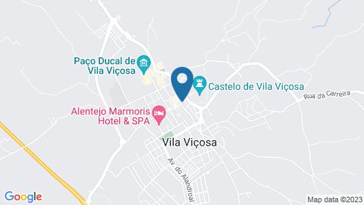 Pousada Convento de Vila Viçosa - Historic Hotel Map