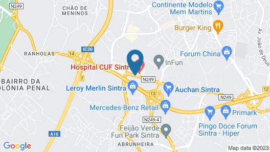 ibis Lisboa Sintra Map