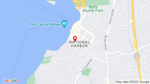 Hampton Inn & Suites National Harbor - Alexandria Area Map