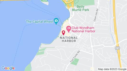 The Westin Washington National Harbor Map