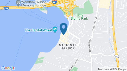 AC Hotel by Marriott National Harbor Washington, D.C. Area Map