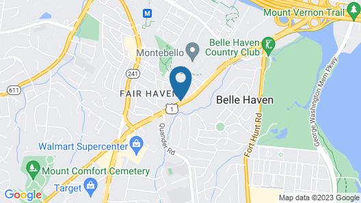 Days Inn by Wyndham Alexandria South Map