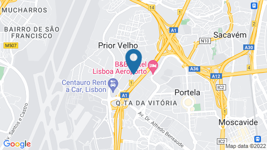 Holiday Inn Express Lisbon Airport, an IHG Hotel Map