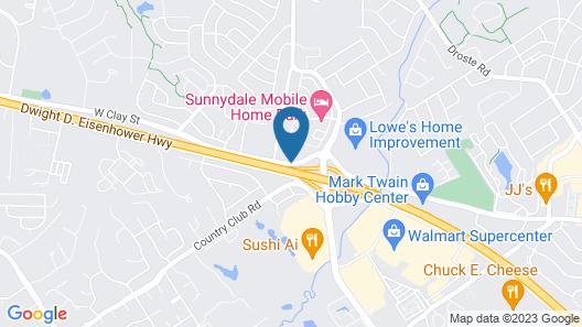 Super 8 by Wyndham St Charles Map