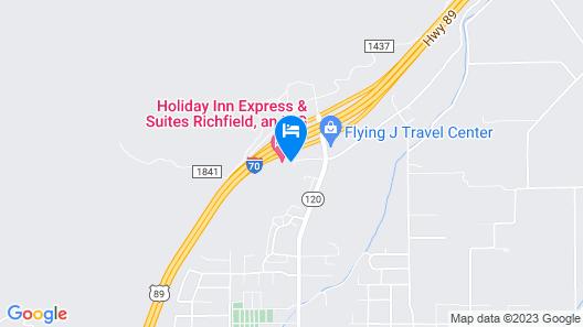 Holiday Inn Express Hotel & Suites Richfield, an IHG Hotel Map