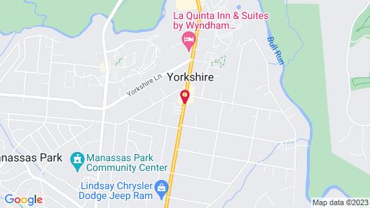 Days Inn by Wyndham Manassas Map