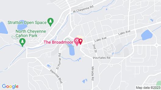 The Broadmoor Map