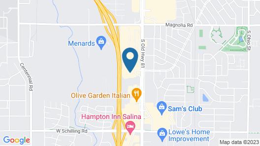 Candlewood Suites Salina, an IHG Hotel Map