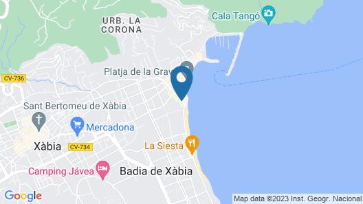 RealRent Port Xabia Map