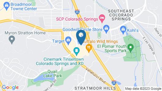 La Quinta Inn & Suites by Wyndham Colorado Springs South AP Map