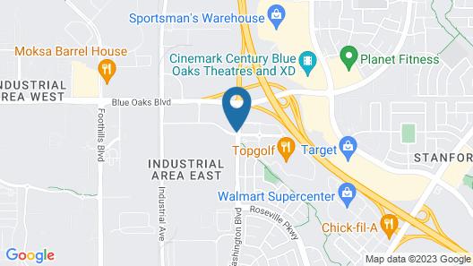 Home2 Suites by Hilton Roseville Sacramento Map