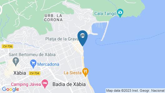 Nomad Xabia Port Map
