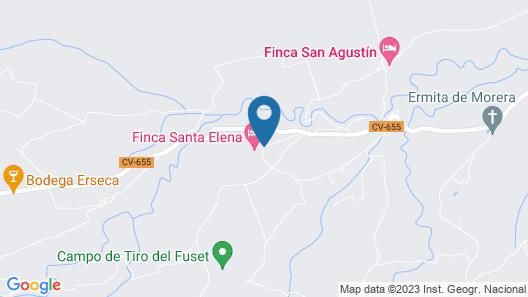 Finca Santa Elena Map