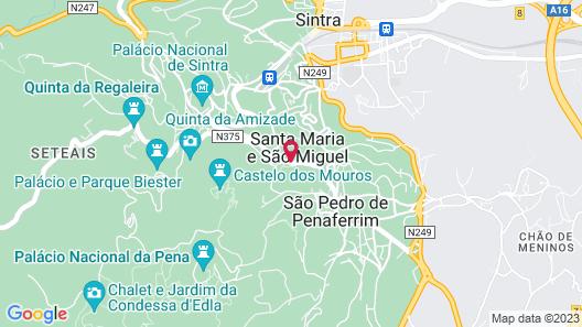 Casa das Campainhas Map