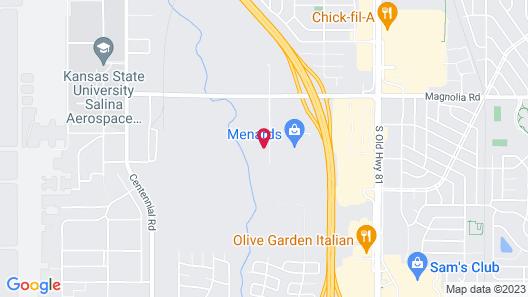 Fairfield Inn & Suites by Marriott Salina Map