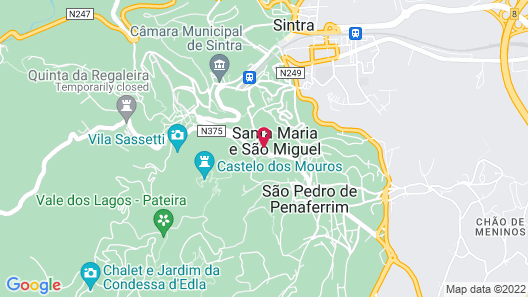 Quinta Das Murtas - Bed & Breakfast Map