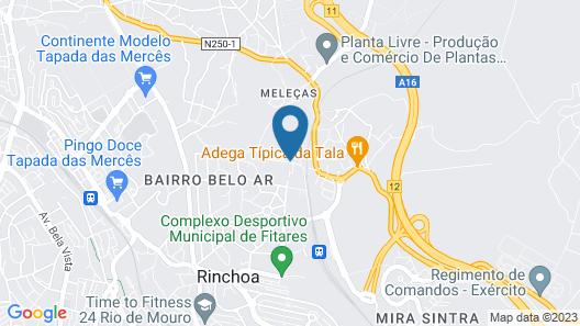 Quinta do Scoto Map