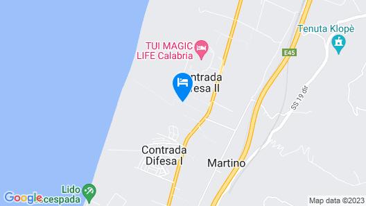 IHR Pizzo Calabro Resort Map