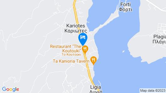 Villa Olga Lounge Hotel Map