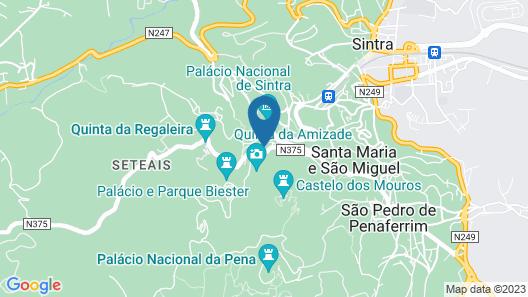Águamel Boutique Guest House Map