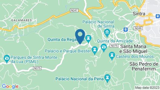 Tivoli Palácio de Seteais Map