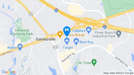 Hampton Inn by Hilton Gainesville-Haymarket Map