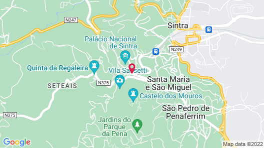 Sintra Boutique Hotel Map