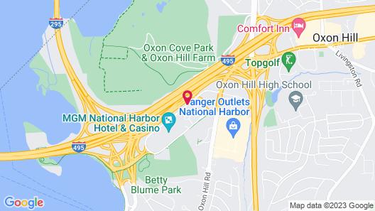 MGM National Harbor Resort & Casino Map