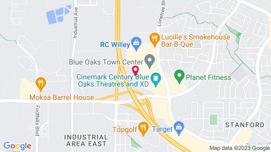Staybridge Suites Rocklin - Roseville Area, an IHG Hotel Map