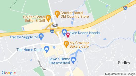 Red Roof Inn PLUS+ Washington DC - Manassas Map