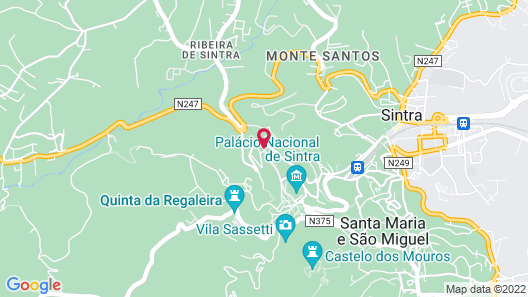 Casa Miradouro Map