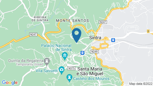 Sintra Marmòris Palace Map