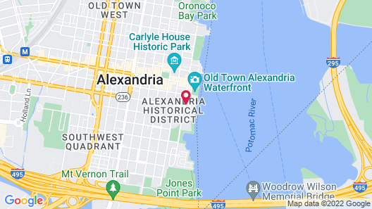 Hotel Indigo Old Town Alexandria, an IHG Hotel Map
