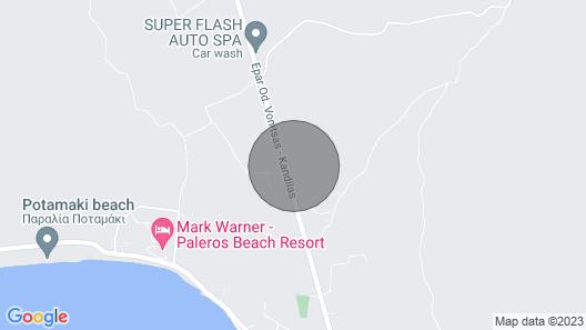 Palairos: Rose Garden experience (A/C, Wi-Fi, BBQ) Map