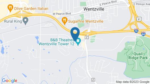 Hampton Inn by Hilton Wentzville Map
