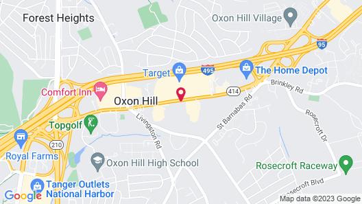 Red Roof Inn PLUS+ Washington DC - Oxon Hill Map
