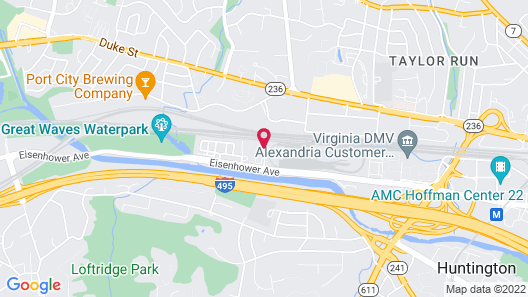 Extended Stay America Suites DC Alexandria Eisenhower Ave Map