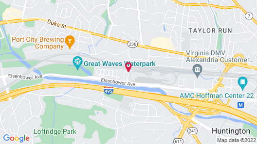 Extended Stay America - Washington D.C. - Alexandria - Eisenhower Ave. Map