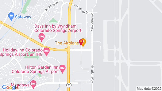 Radisson Hotel Colorado Springs Airport Map