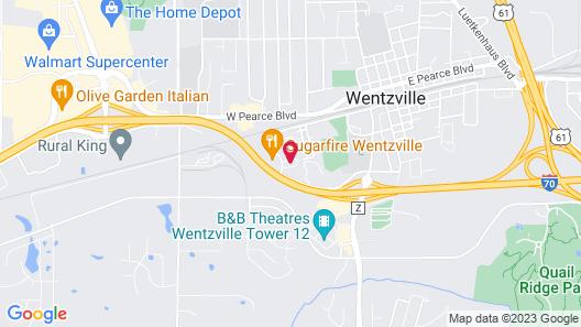 Holiday Inn Express & Suites Wentzville St Louis West, an IHG Hotel Map