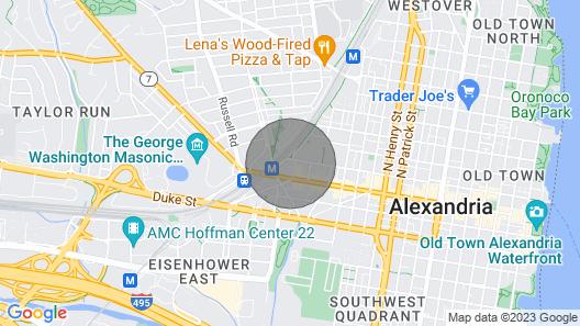Wyndham Old Town Alexandria - Alexandria, VA - 1 Bedroom Map